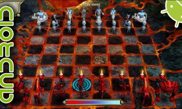 Mau main catur online dengan tampilan visual modern Download Online Chess Kingdoms PPSSPP ISO/CSO Highly Compressed