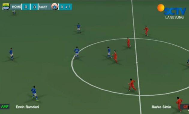 admin punya kabar menarik nih buat kau semua yang menggemari game sepak bola PES Chelito V5 2019 PPSSPP Update Transfer European  League 1 for Android