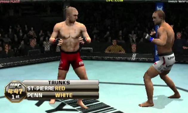 THQ mempublikasikan sebuah game yang dikembangkan oleh Yuke berjudul UFC Undisputed UFC Undisputed Mod 2019 PPSSPP ISO/CSO Free Download