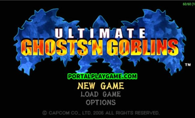Download Ultimate Ghosts 'n Goblins PPSSPP Iso/Cso Highly Compressed