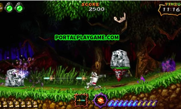 Download Ultimate Ghosts 'n Goblins PPSSPP CSO Ukuran Kecil
