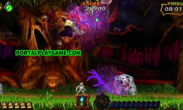 Download Ultimate Ghosts 'n Goblins PPSSPP ISO Savedata Files Games