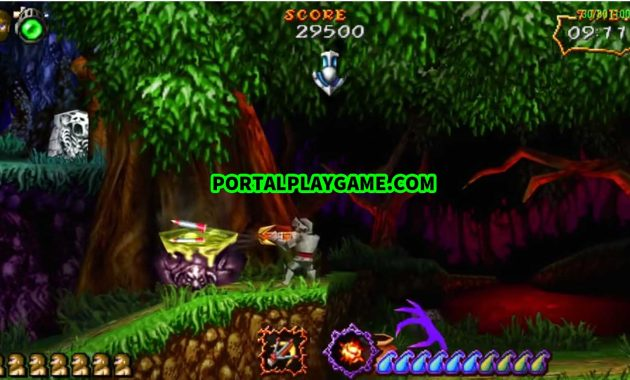 Download Ultimate Ghosts 'n Goblins PPSSPP CSO Full Version for Android
