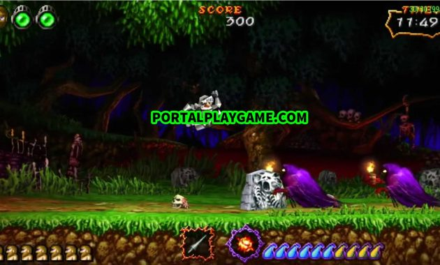 Download Ultimate Ghosts 'n Goblins PPSSPP Iso/Cso Size Kecil