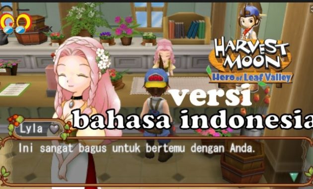 Ada salah satu game legenda yang tetap eksis dan punya banyak penggemar sampai ketika ini ya Harvest Moon Here Of Leaf Valley ISO/CSO PPSSPP Free Download