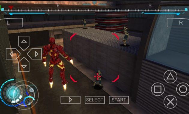 niscaya yang terlintas di kepalamu untuk pertama kali yaitu filmnya yang populer Download Game Iron Man 2 PPSSPP ISO/CSO Highly Compressed