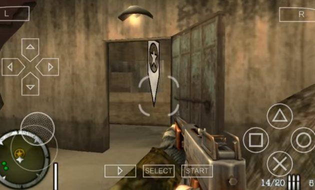 Nostalgia sebentar sama game yang membawa kenangan pada masa kelam Download Medal of Honor Heroes 2 ISO/CSO PPSSPP Highly Compressed