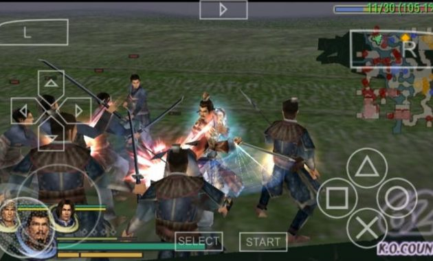 niscaya sudah nggak aneh sama game Warriors Orochi Download Warriors Orochi (USA) PPSSPP ISO/CSO Highly Compressed