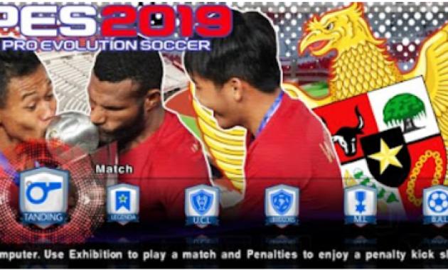 admin tiba bawa kabar terbaru dari game sepak bola yang dapat dimainkan dengan lancar di Download PES 2019 Lite ISO PPSSPP MOD Timnas Indonesia U22 for Android