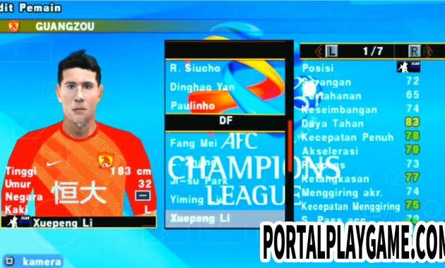 Indofood menjadi game yang paling banyak permintaannya untuk diupdate ke versi terbaru ya PES Jogress V3.5 Liga 1  2 Indonesia  ACL Asia Champion League Terbaru By Ragil Sty