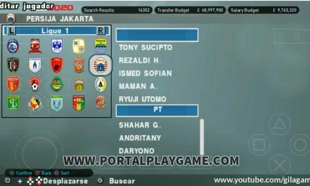 Selamat pagi para gamers Indonesia penggemar  Download PES CHELITO 2020 PPSSPP Mod Shopee Liga 1 Indonesia Terbaru