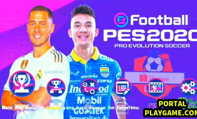 Game Savedata Texture Kamera Jauh Salah satu daya tarik game PES yakni kualitas grafis d PES Jogress V3.5 Shopee Liga 1 Indonesia AFC Champions  All Eropa 2020