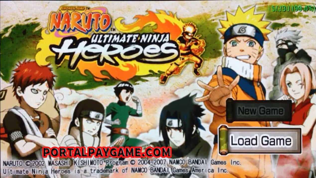 Download Naruto Ultimate Ninja Heroes Usa Ppsspp Iso Ukuran Kecil