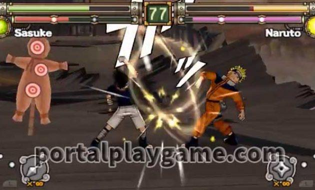 Siapa yang tak kenal dengan game naruto  Download Naruto Ultimate Ninja Heroes 2 ISO PPSSPP High Compressed