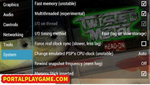 Incognito Entertainment sebagai perusahaan pengembang game bekerja sama dengan Sony Comput Download Twisted Metal: Head-On ISO/CSO PPSSPP Highly Compressed