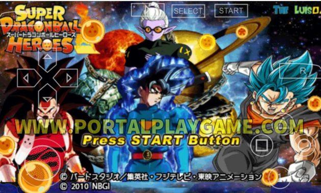 Download Dragon Ball Tenkaichi Tag Team Mod Dragon Ball Heroes PSP ISO CSO unlock all char Download Game Dragon Ball Heroes PPSSPP ISO CSO Highly Compressed