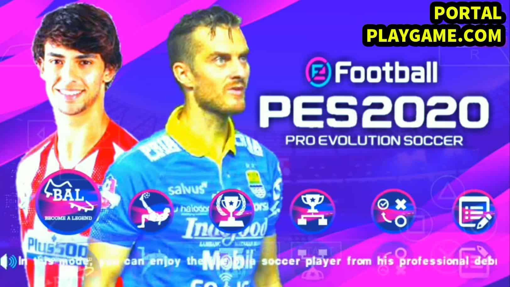 Yang kemarin tanya soal download game pes  PES 2020 PPSSPP SLI Shopee Liga 1 Indonesia  All Eropa Transfer 2019/2020