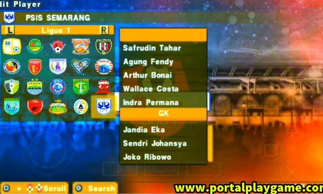 supaya tetap semangat menjalani rutinitas hari PES Army Patch 2020 ISO PPSSPP Shopee Liga 1 Indonesia New Transfer  Jersey 2019