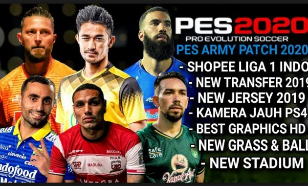 PES ARMY ISO PPSSPP UPDATE LIGA 1 & 2 INDONESIA 2019 | KASKUS
