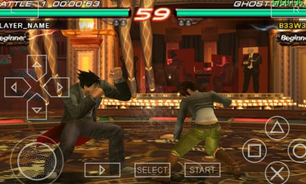 Kamu suka main game agresi ibarat tekken  Download Tekken 6 USA ISO/CSO PPSSPP Highly Compressed