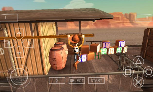 Banyak game yang dikembangkan dari dongeng film Download Toy Story 3 ISO CSO PPSSPP Ukuran Kecil Terbaru