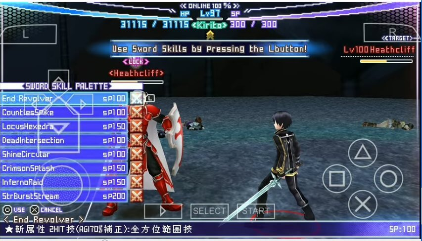 Sword Art Online Infinity Moment Psp Ppsspp Iso Download Gamerecently Com